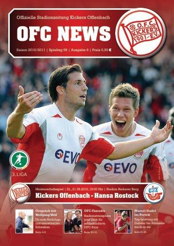 Kickers Offenbach - Hansa Rostock