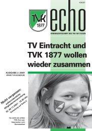 TVK-Echo 3/07 - Turnverein 1877 eV Essen-Kupferdreh