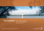 Fernsehen Marke Brandenburg - Reiseland Brandenburg