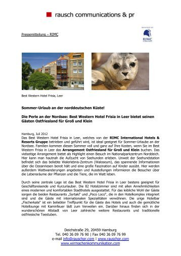 ganzen Artikel lesen - RIMC International Hotel Resort Management ...