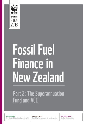 Fossil Fuel Finance in New Zealand