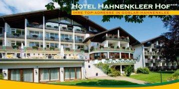 """Hotel Hahnenkleer Hof - im Hotel """"Hahnenkleer Hof"""""""