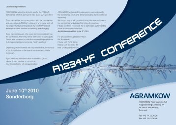 Co fe e c - Agramkow Fluid Systems A/S