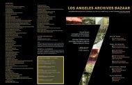 LOS ANGELES ARCHIVES BAZAAR - LA as Subject