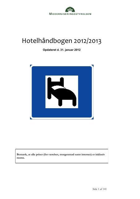 Hotelhåndbog 2012.01.31 - iNANO