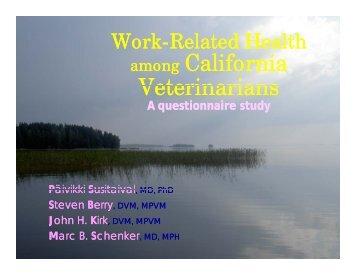 California California Veterinarians Veterinarians Veterinarians Veterinarians