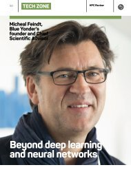 Beyond deep learning and neural networks