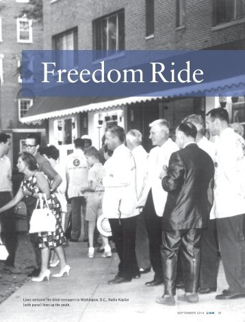 Freedom Ride - Junior Blind of America