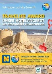 travelife hotels sommer 2012