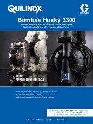 Bombas Husky 3300 - Quilinox