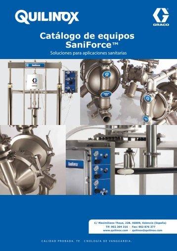 Catálogo de equipos SaniForce