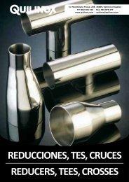 REDUCCIONES TES CRUCES REDUCERS TEES CROSSES
