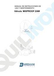 Válvula MIXPROOF ZAW - Quilinox