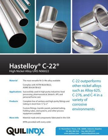 Hastelloy® C-22®