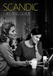 Meeting guide - Scandic Hotels