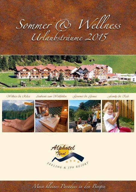 Sommerpreisliste DE 2015 Alphotel Tyrol