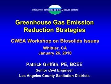Greenhouse Gas Emission Reduction Strategies