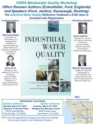Check out the Workshop Brochure - Los Angeles Basin Section