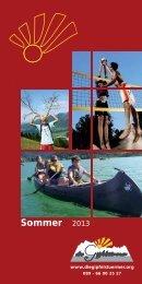 Anmeldung Sommer 2013 - Die Gipfelstürmer