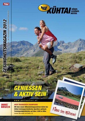 Sommermagazin - Kühtai