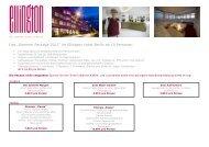 "Das ""Sommer Package 2011"" im Ellington Hotel Berlin ab 10 ..."