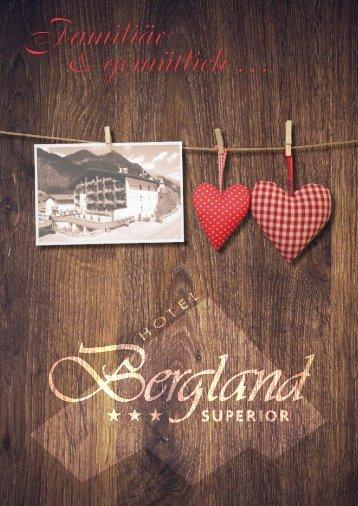 Prospekt Hotel Bergland