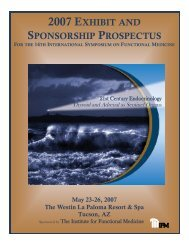 2007 EXHIBIT AND SPONSORSHIP PROSPECTUS FOR THE 14TH ...