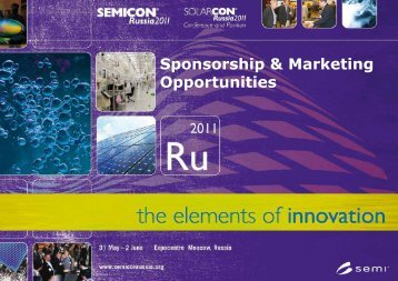Sponsorship & Marketing Opportunities