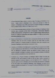 APROVADO EM CONSELHO - Câmara Municipal de Braga