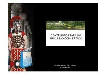 CONTRIBUTOS PARA UM PROCESSO CONCERTADO