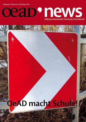 OeAD macht Schule! - Österreichischer Austauschdienst