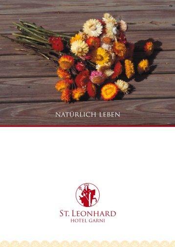 Hausprospekt (pdf) - Hotel Sankt Leonhard
