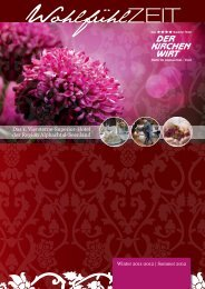 Kirchenwirt Pricelist winter 2011-2012 - Hotel Kirchenwirt