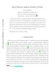 Ettore Majorana: quantum mechanics of destiny
