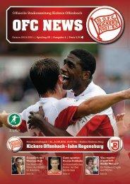 Kickers Offenbach - Jahn Regensburg