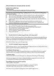 Information für den Anwender CELESTAN® solubile 4 mg - MSD