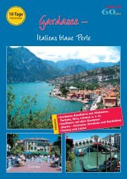 Italiens blaue Perle - SKAN-TOURS Touristik International GmbH