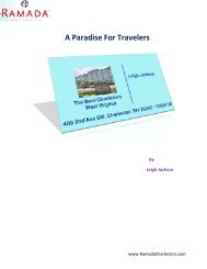 A Paradise For Travelers - Charleston Conference Center Hotel