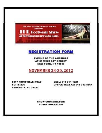 november 28-30, 2012 - The Footwear Show Warwick New York ...