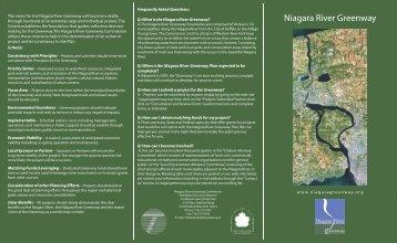 decisionmaking Niagara River Greenway