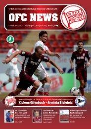 Kickers Offenbach – Arminia Bielefeld