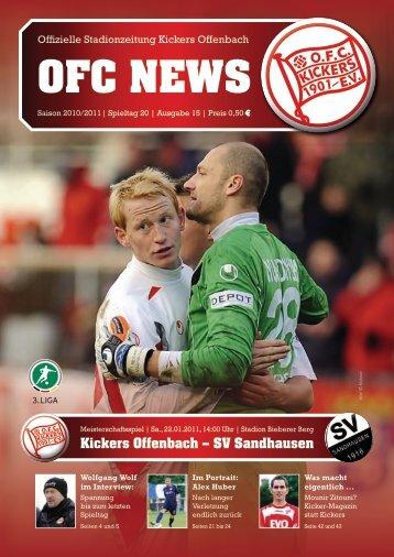Kickers Offenbach – SV Sandhausen