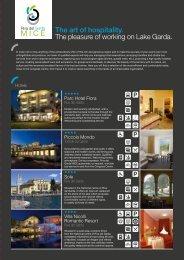 The art of hospitality. The pleasure of working on ... - Garda Trentino