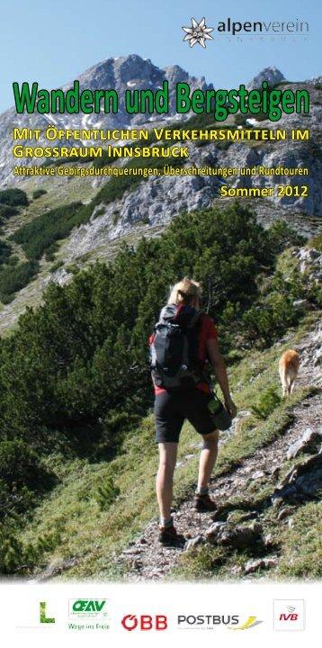 Wandern und Bergsteigen - Postbus