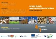 European Master in Sustainable Animal Nutrition & Feeding