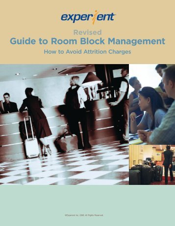 Guide to Room Block Management - Experient