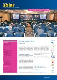 conference preview 2012 - Intersolar India
