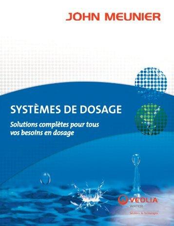 SYSTÈMES DE DOSAGE