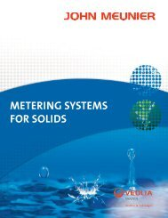 METERING SYSTEMS FOR SOLIDS