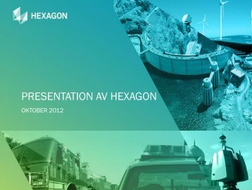 PRESENTATION AV HEXAGON